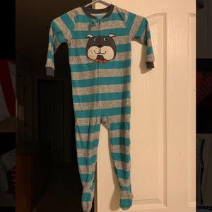 Toddlers feety pajamas